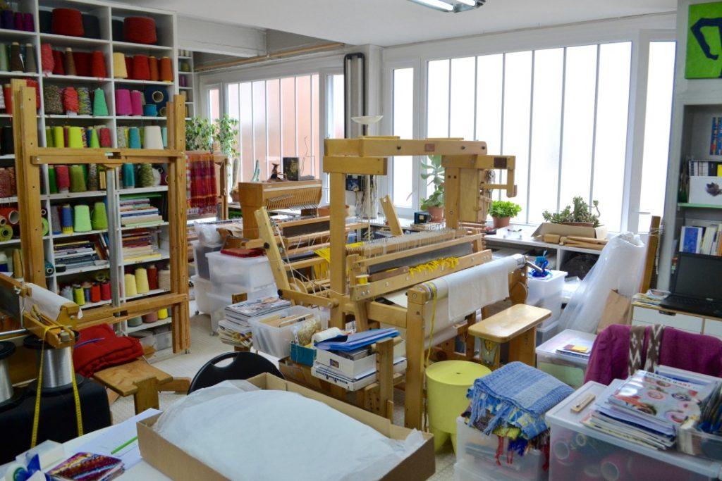 Atelier Maïté Tanguy, tisseuse