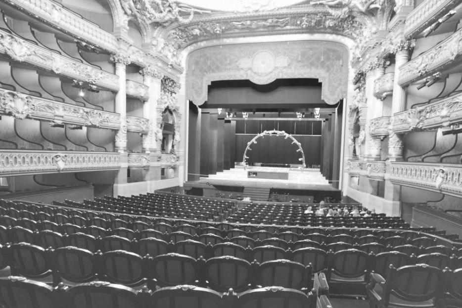 Chaises opéra Garnier