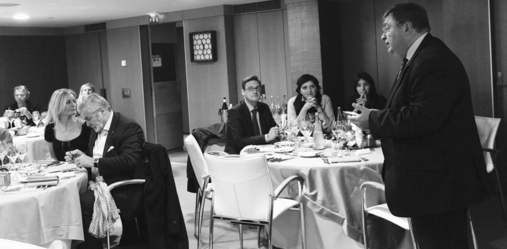 Conférence au Mandarin Oriental Paris