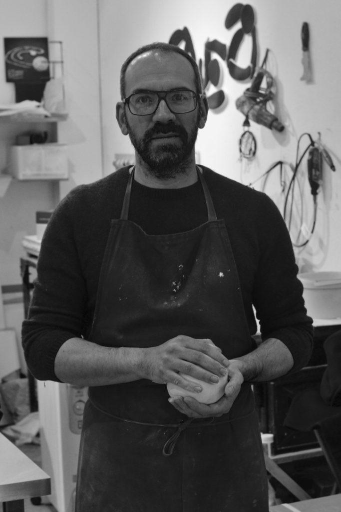 Fabien Mérillon, céramiste